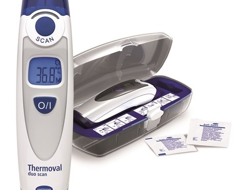 Termómetro Thermoval® duo scan